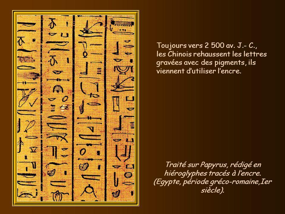 Vers 2 500 av. J.- C., les Sumériens protègent leurs récoltes avec du soufre, cest lavènement des pesticides. Le premier système de mesures normalisée