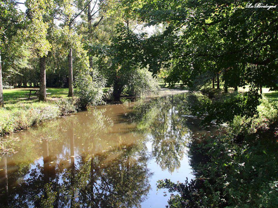 Un sentier tracé entre la forêt et la Boulogne, le « sentier du souvenir » amène les visiteurs de la chapelle du Petit-Luc au Mémorial situé sur la rivière.