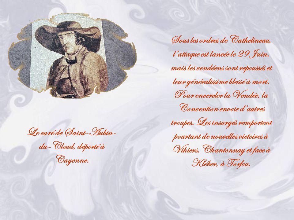Le 19 Mars, la Convention décide que tout insurgé sera puni de mort.
