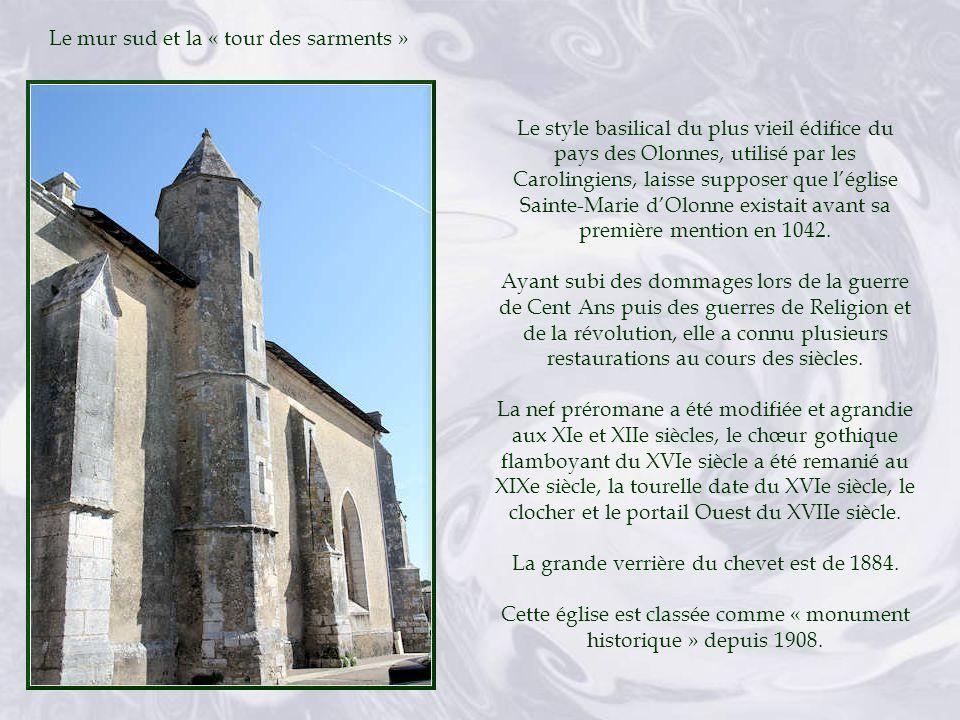 Arrière de léglise Notre-Dame dOlonne