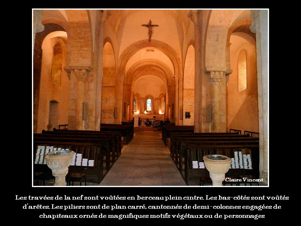 Un joyau de lart roman brionnais (léglise dIguerande en Saône-et-Loire) Claire Vincent
