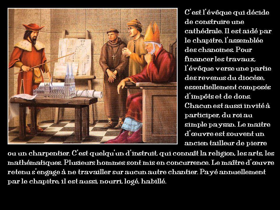 Lange au sourire de la cathédrale de Reims Comme à lépoque romane, le décor sculpté livre un enseignement religieux aux analphabètes. Il décrit aussi