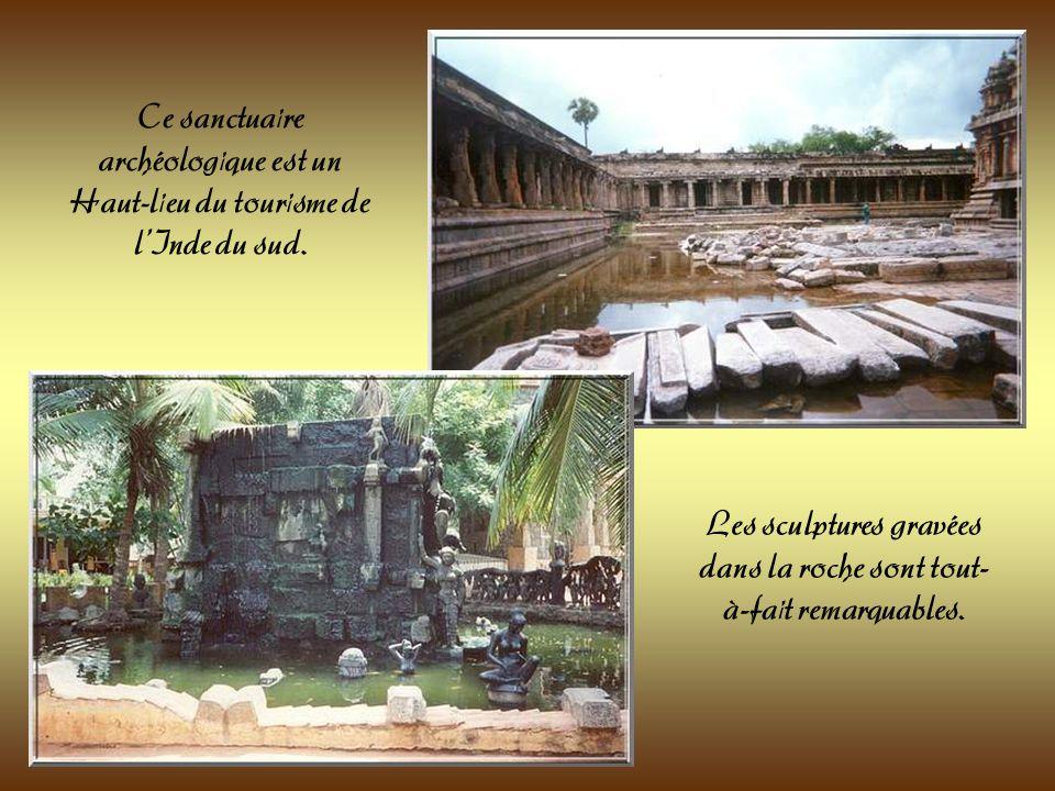 Pour terminer ce petit parcours en Inde du Sud-Est, je vous invite à visiter le site archéologique de Mahabalipuram près de Chennai ( Madras ). Ce sit