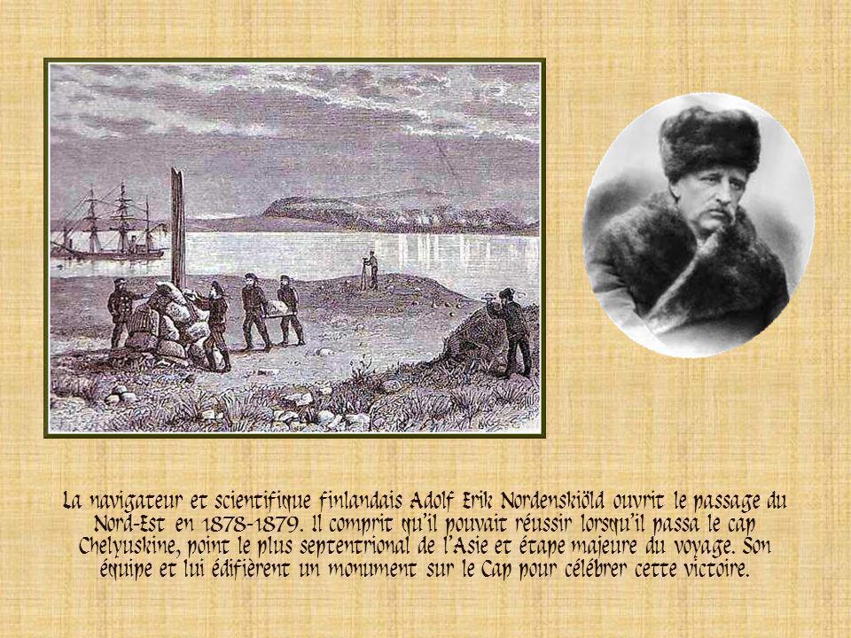 Sir John Franklin En 1845, le navigateur britannique John Franklin voulut ouvrir le passage maritime du Nord-Ouest. Ses bateaux, Erebus et Terror, fur