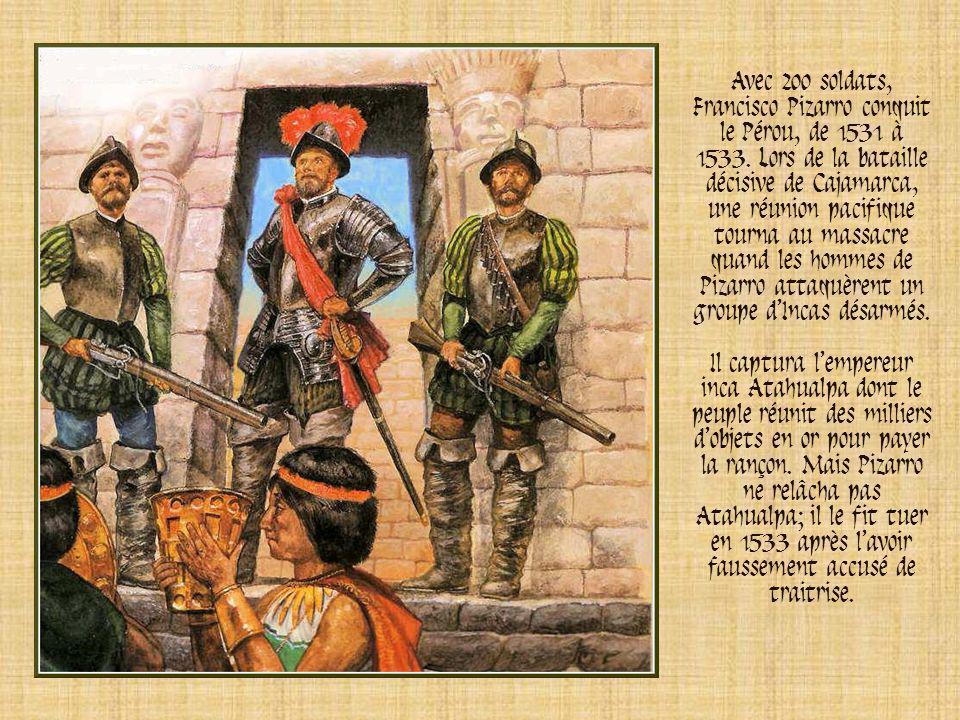 A la suite de Christophe Colomb, des marins espagnols, atteignirent lAmérique centrale. Ils découvrirent que le Mexique était le berceau dune riche ci