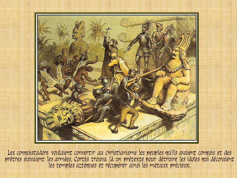 Avec 200 soldats, Francisco Pizarro conquit le Pérou, de 1531 à 1533. Lors de la bataille décisive de Cajamarca, une réunion pacifique tourna au massa