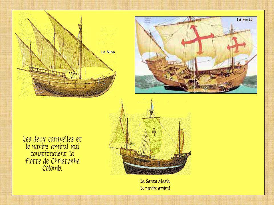 La « Santa Maria », le vaisseau amiral de Christophe Colomb lors de son premier voyage, ne mesurait que 30m de long avec un équipage de 40 hommes. Ses