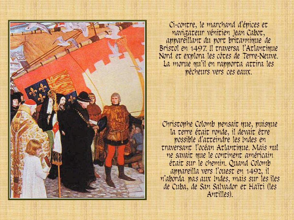 La pinta La Santa Maria Le navire amiral Les deux caravelles et le navire amiral qui constituaient la flotte de Christophe Colomb.