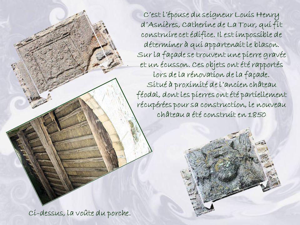 Lancien château féodal dAizenay nexiste plus. Mais le cadastre confirme son existence sur ce lieu. La date de 1754figure sur la pierre ogivale du porc