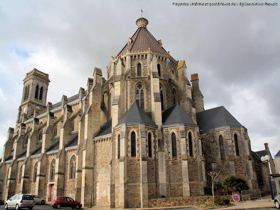 Léglise Saint-Benoit Cette église fut construite entre 1901 et 1905 sur lemplacement de la précédente devenue trop petite. Pour lextérieur, larchitect