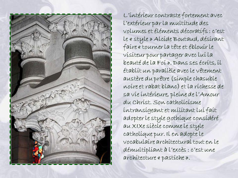 Façades latérale et postérieure de léglise Saint-Benoit