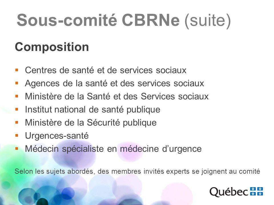 Priorités 2012-2013 Guide de planification de la décontamination de personnes en centre hospitalier Projet de Guide sur la gestion des colis suspects