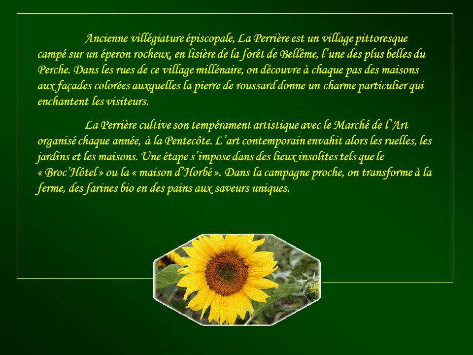 Ce village, surnommé « La perle du Perche », est situé dans la région de Basse-Normandie, plus précisément dans le département de lOrne.