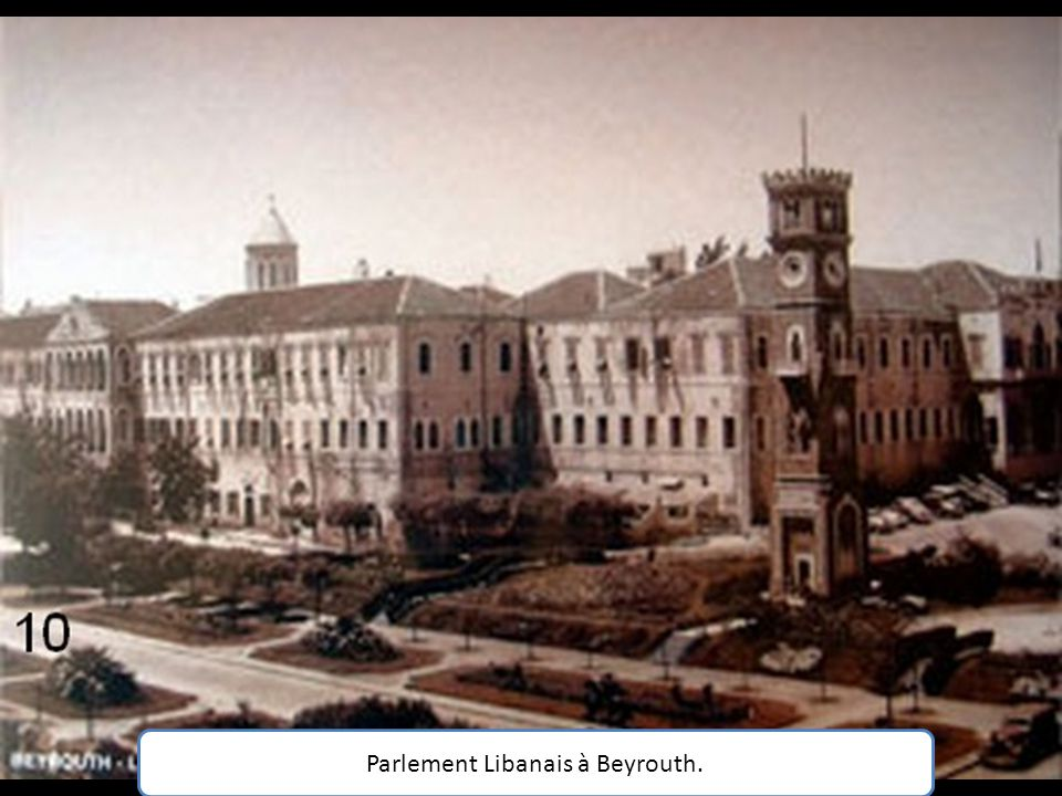 Beyrouth sous l Empire Ottoman.