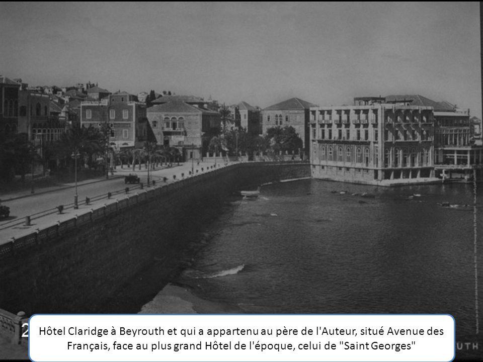 Père de l'Auteur (Georges Antakli) qui a servi sous le drapeau Français lors de la Seconde Guerre Mondiale.