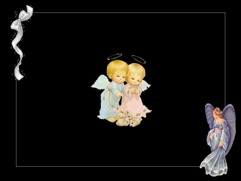 Les nouveau-nés sourient aux anges dit-on. Et en effet si les anges sont ces riens qui pour un rien parfois donnent des ailes. Maryline Desbiolles.
