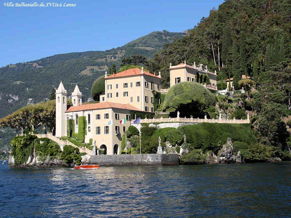 Villa Balbaniello du XVIIe à Lenno