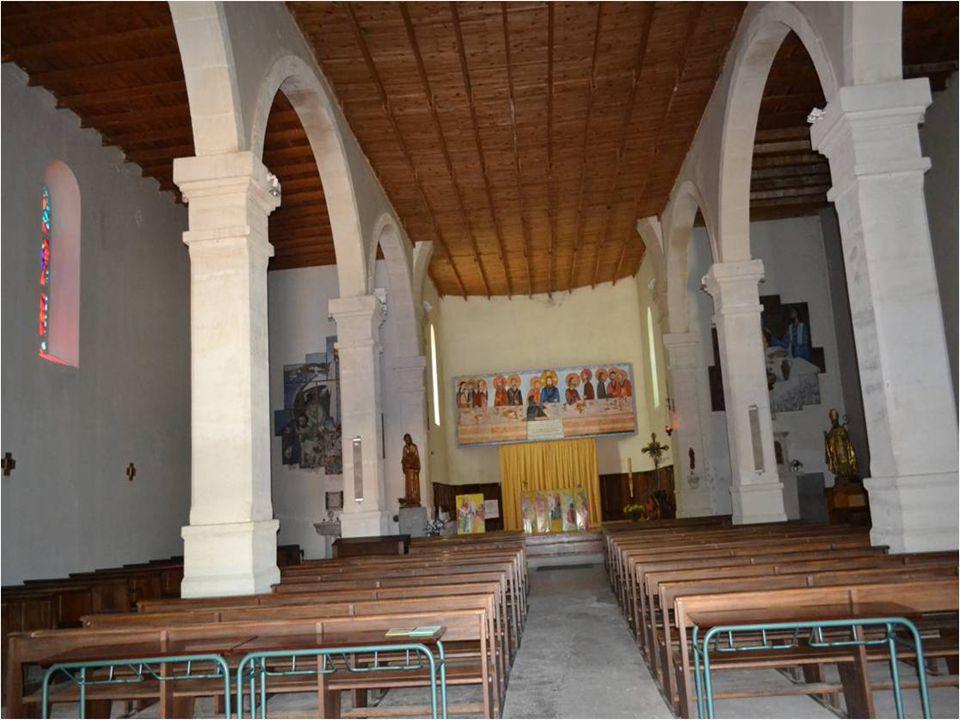 Léglise Notre Dame de Banon.