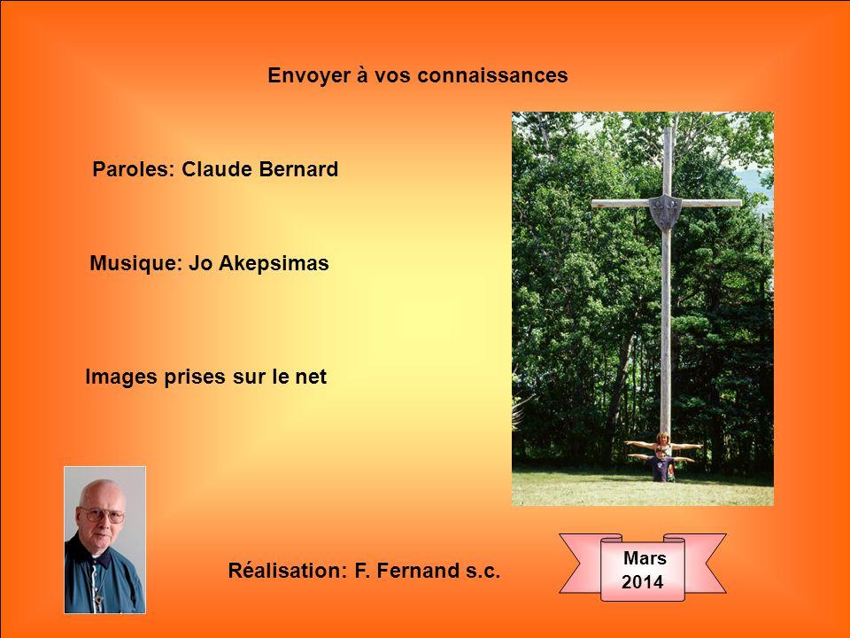 .. Croix plantée Sur nos chemins, Sauve en nous Lespoir blessé.