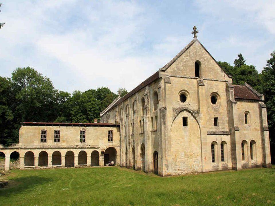 Labbaye de Notre- Dame du Val telle quelle était au XVIIIe siècle.