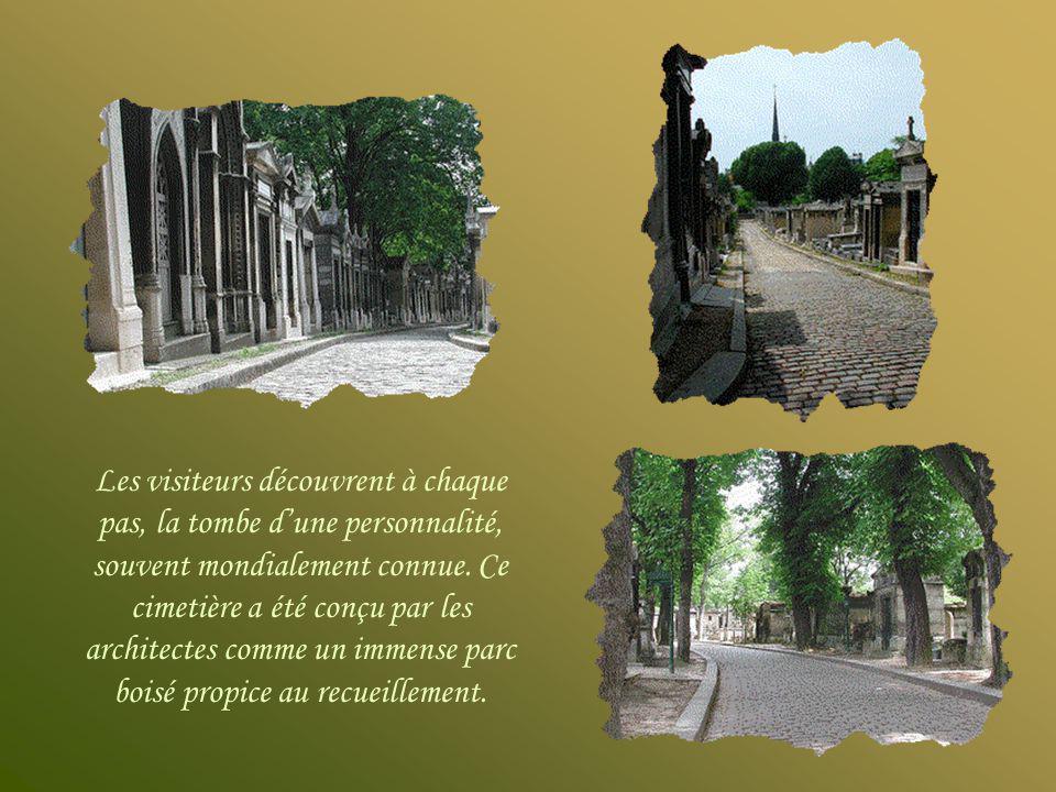 Entrée principale du cimetière du Père-Lachaise