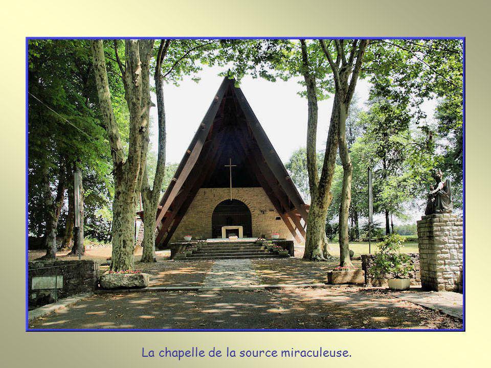 L'abbé Labarrière, dans son livre raconte que le 16 mai 1623 Bernard Ducassou vient avec sa mère, Adrien De Laporte son curé et d'autres personnes. Sa