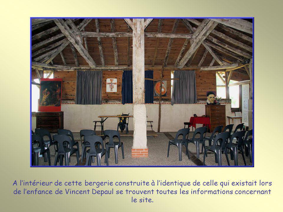 A lintérieur de cette bergerie construite à lidentique de celle qui existait lors de lenfance de Vincent Depaul se trouvent toutes les informations concernant le site.