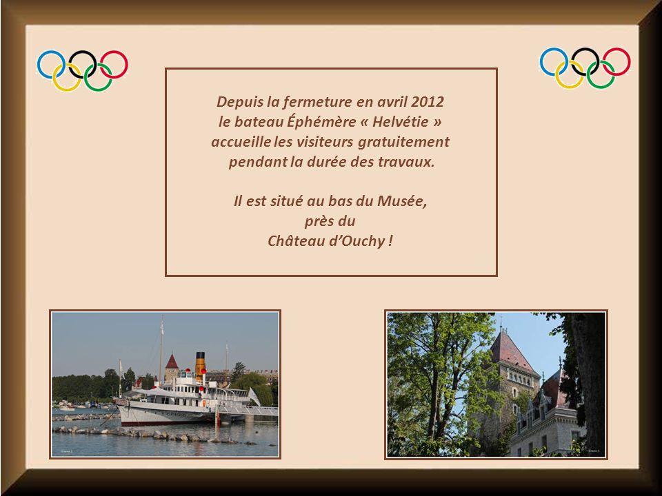 Depuis la fermeture en avril 2012 le bateau Éphémère « Helvétie » accueille les visiteurs gratuitement pendant la durée des travaux.
