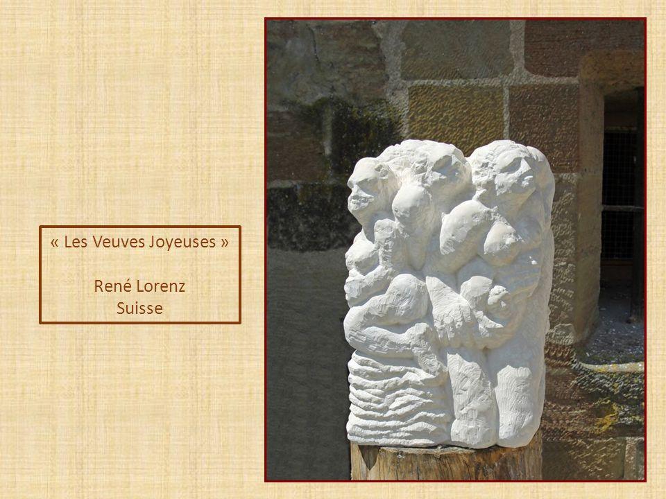 « Coquillage » Daniel Harriet Suisse Prix du Public sculpture sur pierre