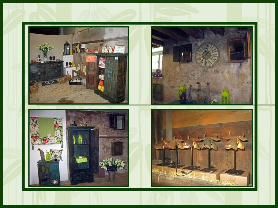 La Boutique « Les Trésors du Château » propose des produits gourmets de la région.