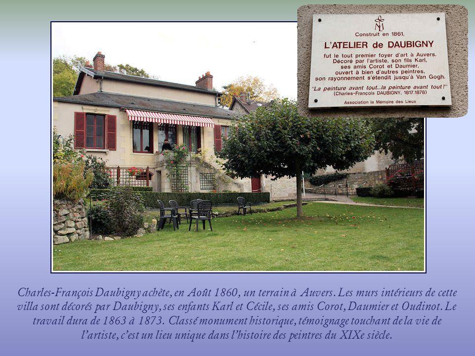 Le musée Daubigny est majoritairement consacré aux œuvres des Daubigny, père et fils.