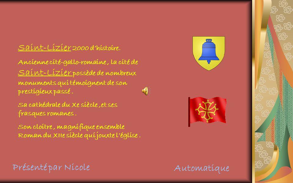 Saint-Lizier 2000 dhistoire.