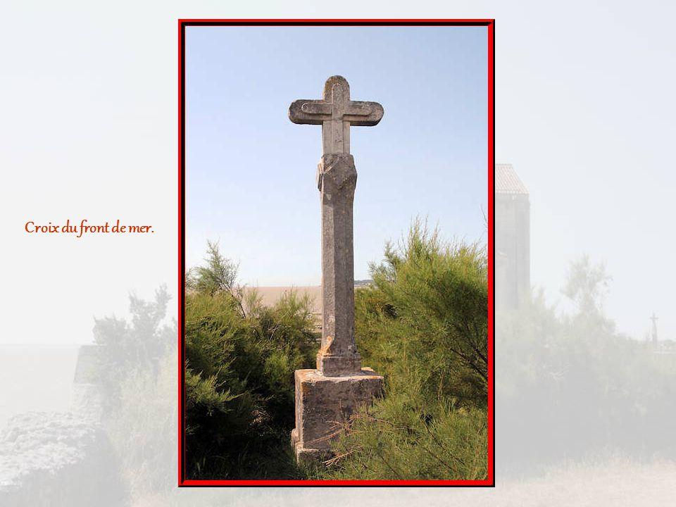 Croix du front de mer.
