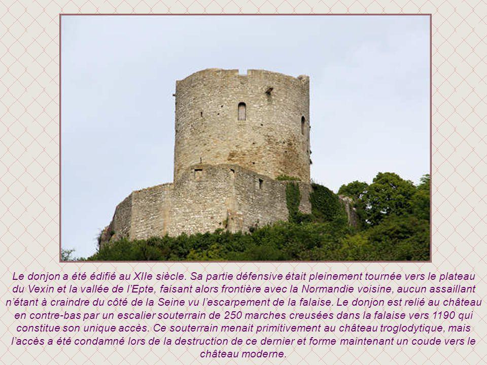 La maquette du château et du donjon tels quils étaient à lorigine