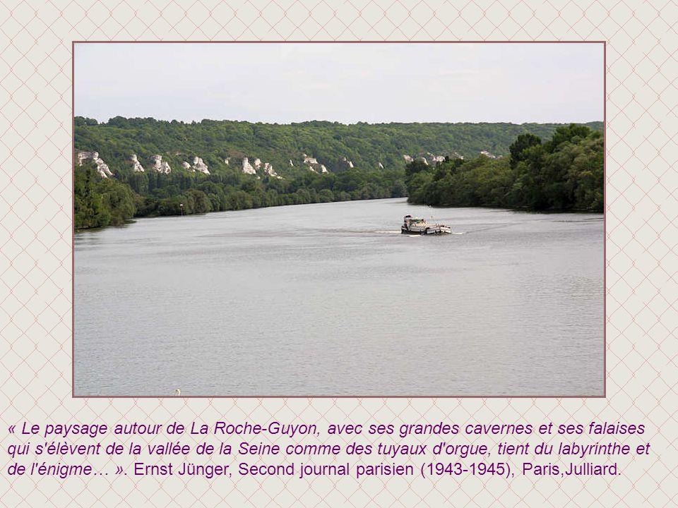 La Roche-Guyon vue du donjon