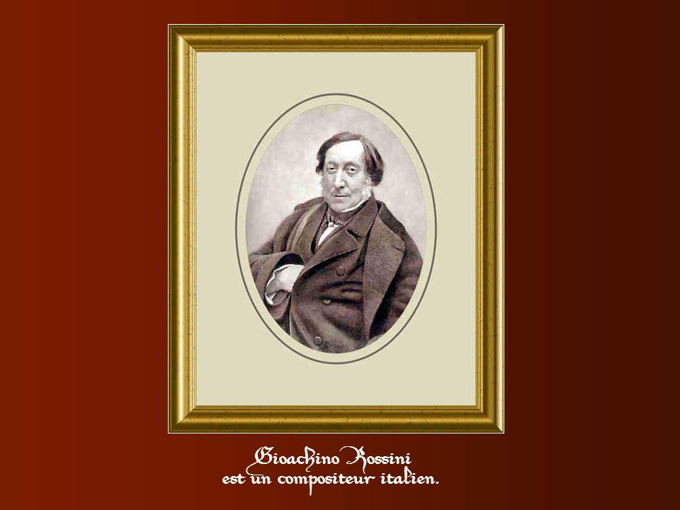 Ce n'est pas pour rien que Rossini laissera son nom à une fameuse recette de tournedos. A l'issue d'un repas trop frugal il s'entend dire par son hôte