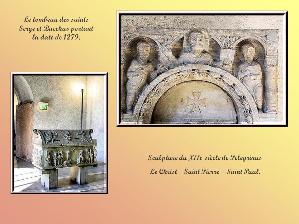 La statue équestre de Cangrande 1 er, original provenant des tombeaux des Scaliger.
