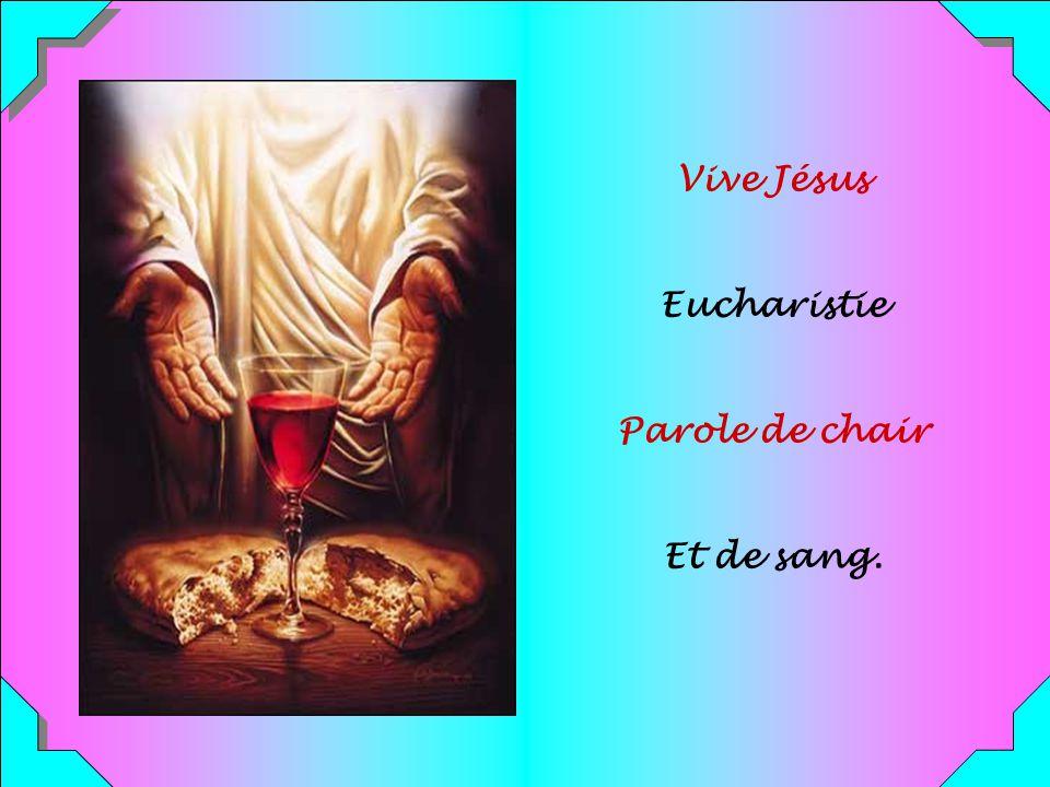 .. Il est vivant par sa Parole, Source de Vie, Jaillissement.