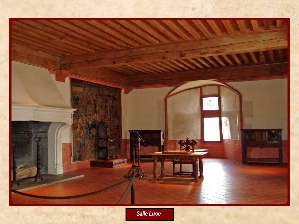 Salle des Chevaliers Visite de lintérieur du Château