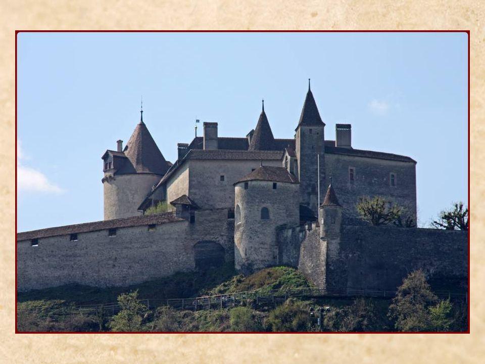 Château de Gruyères construit au XIII e siècle
