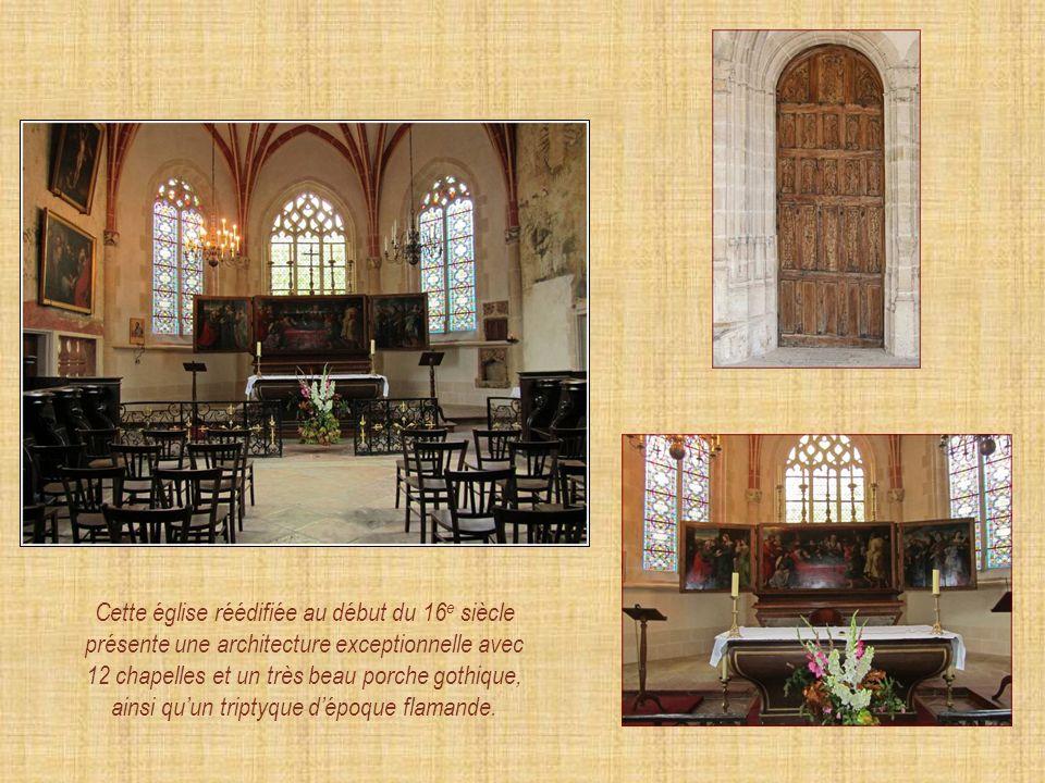 Notre-Dame de Cuisery 16 e siècle