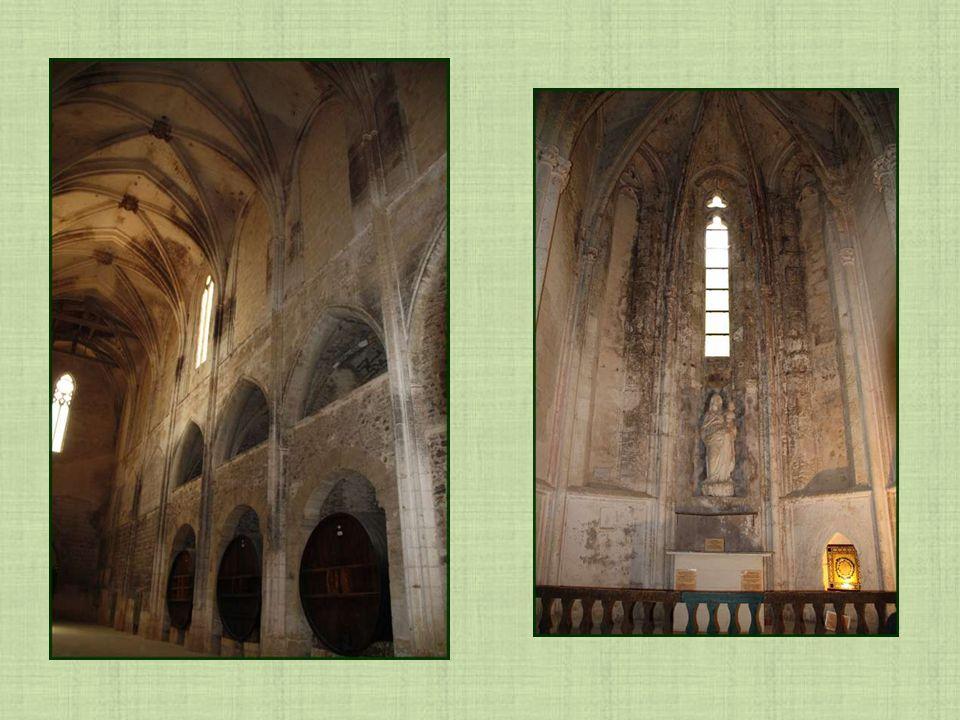 Léglise fut transformée en cave à vin après les guerres de religions