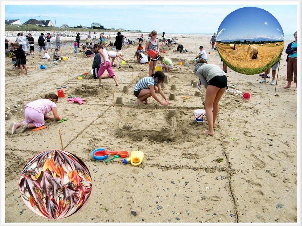 Les plages qui se couvrent des châteaux de sable des enfants, Les meules de foin séchant au soleil, Lautomne avec son tapis dor Et les arbres en robe dapparat aux tons si chauds