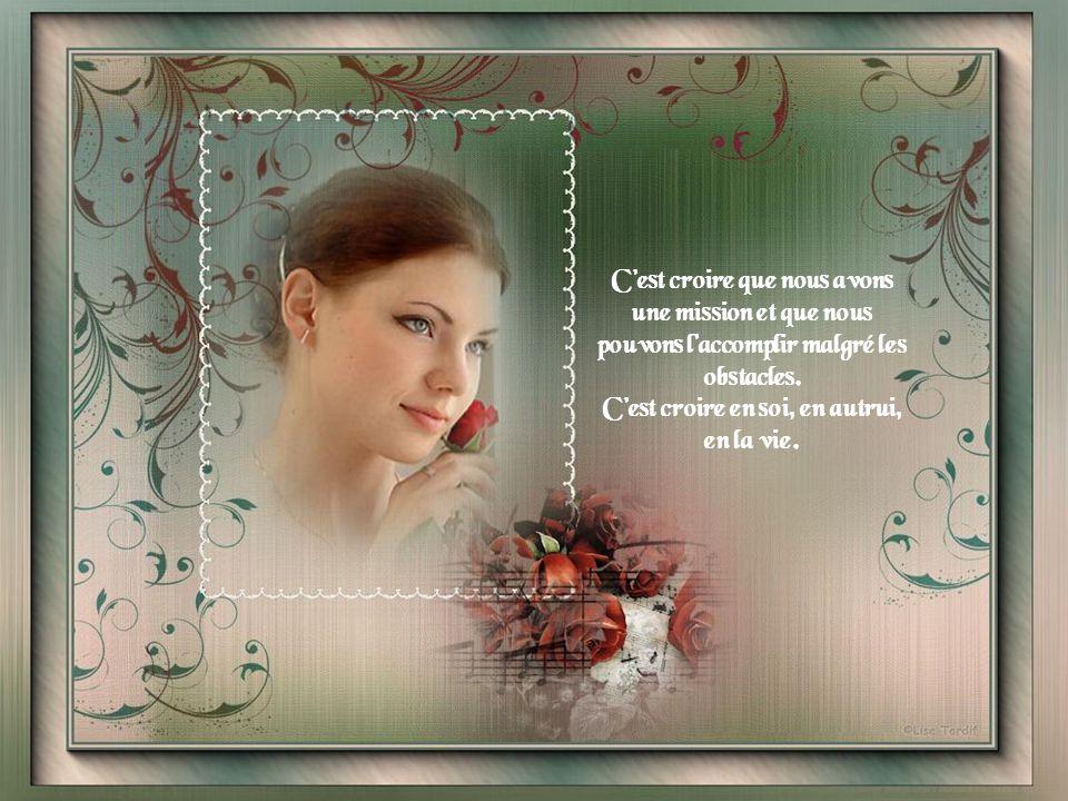 « Aimer la vie » Auteur : Lise Thibault Bonne journée Musique de : Claude Léveillée & André Gagnon « Poisson » Création : Lise Larochelle Tardif (Janv.