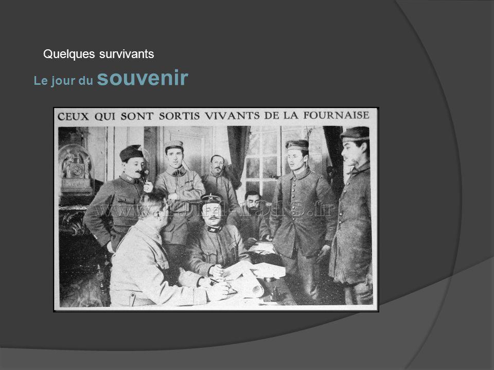 Le jour du souvenir Verdun