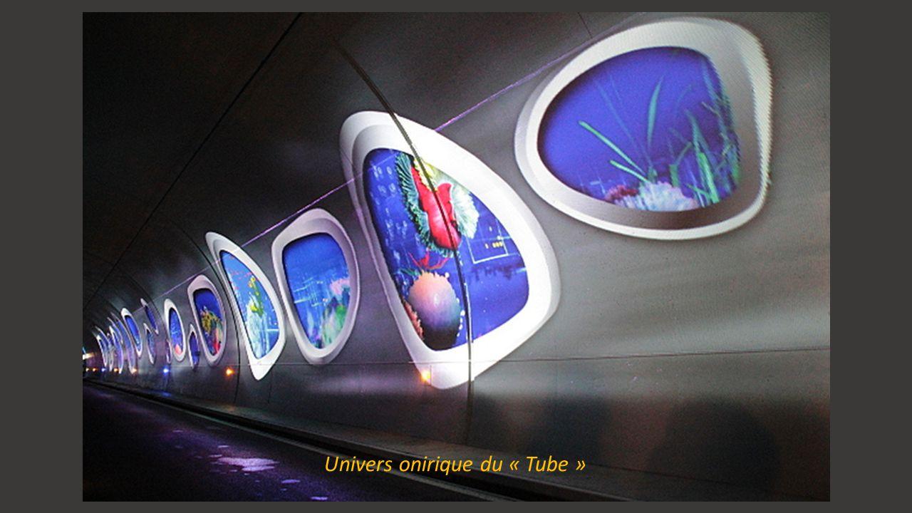 Scénographie du « Tube »