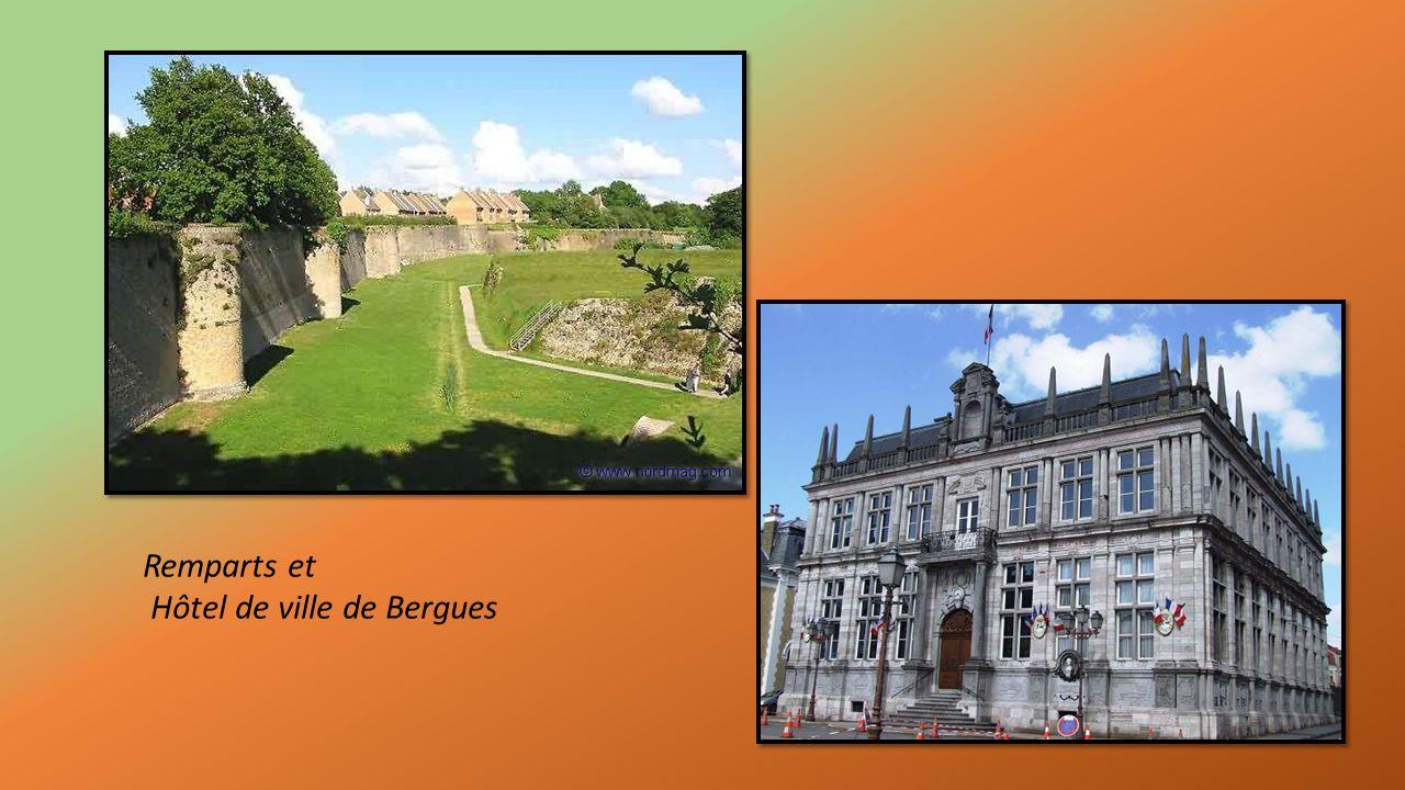 Vestiges de remparts Vauban