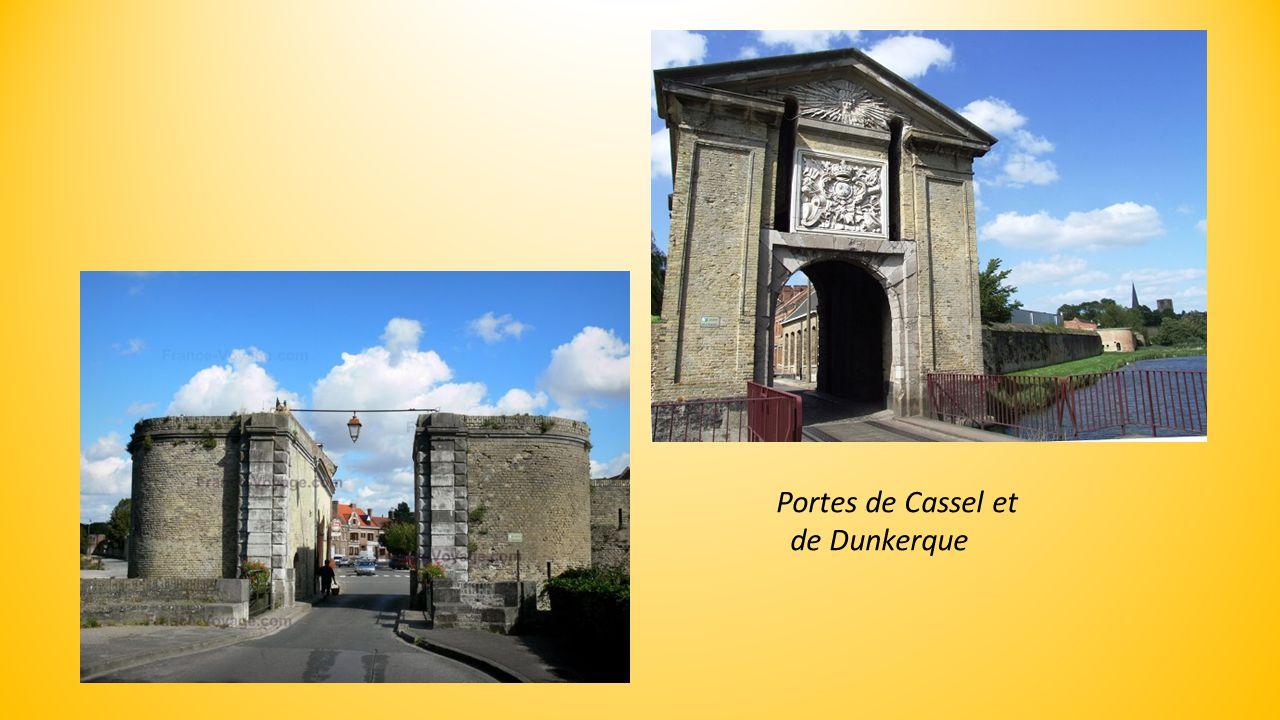 Remparts et Hôtel de ville de Bergues