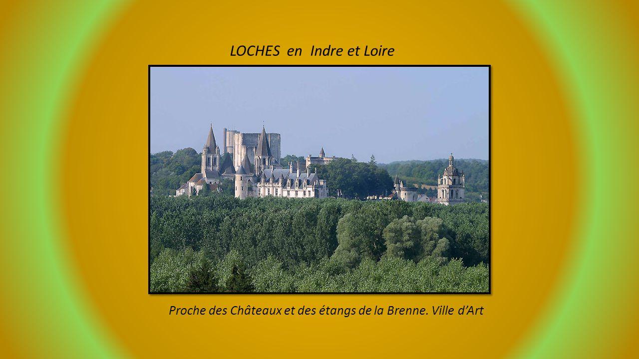 LES PLUS BEAUX DETOURS DE FRANCE Autour de TOURS Loches – Montreuil-Bellay – Loudun – Fontenay le Comte – Chauvigny – La Flèche Proposé par Jackdidier