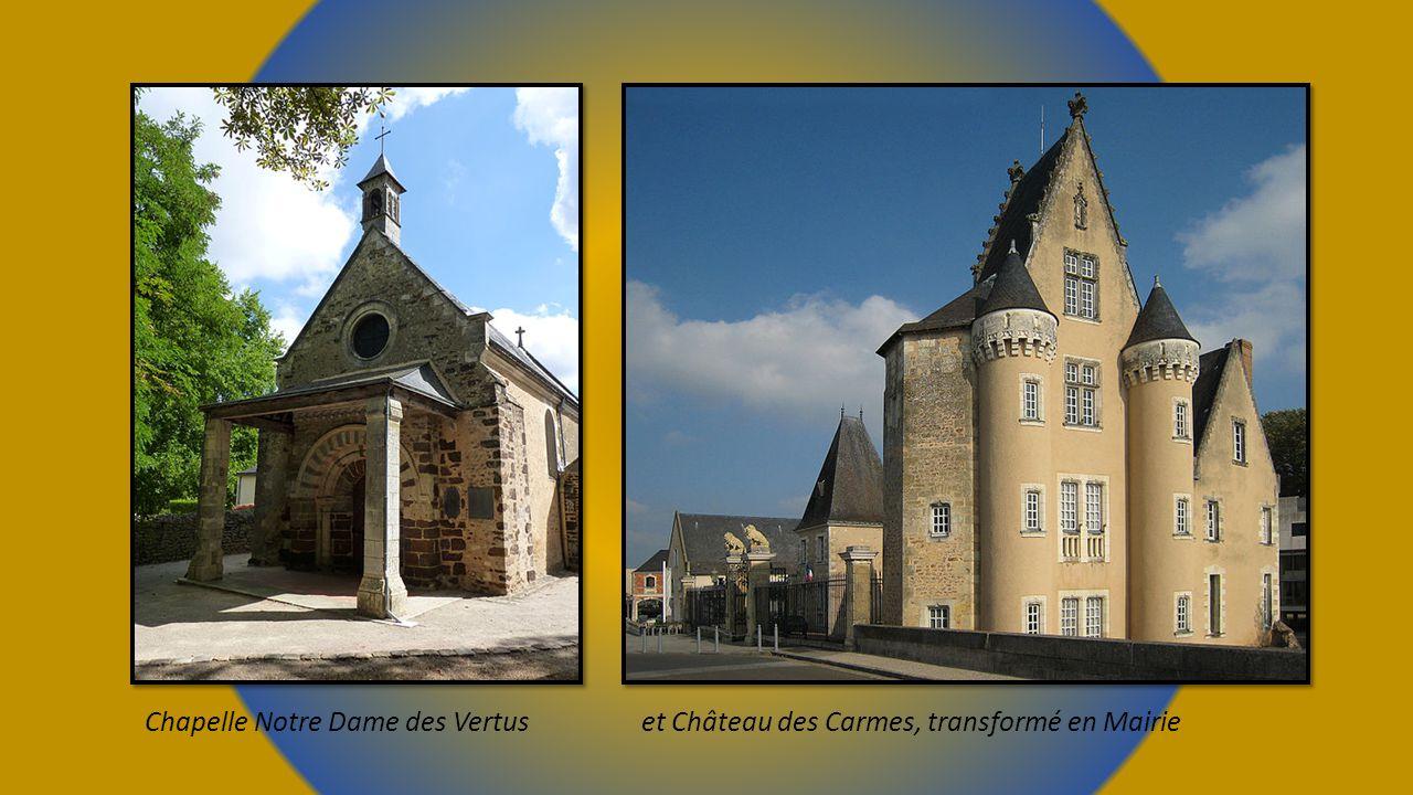 Entrée et cour Austerlitz du collège fondé par Henri IV, Prytanée national militaire.
